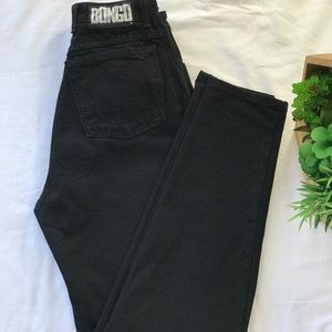 Vintage Bongo High Waisted Mom Jeans Made In U.S.A
